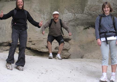 Sur le sentier de l'Imbut