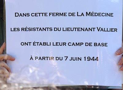 Journée commémorative du 9 juin 2012