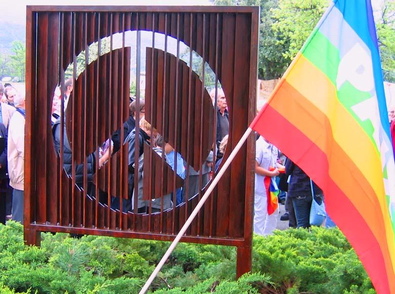 Le Monument pour la Paix aux Salles-sur-Verdon