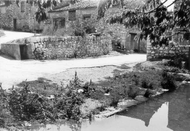 Les Salles, le vallat, 07/09/1973