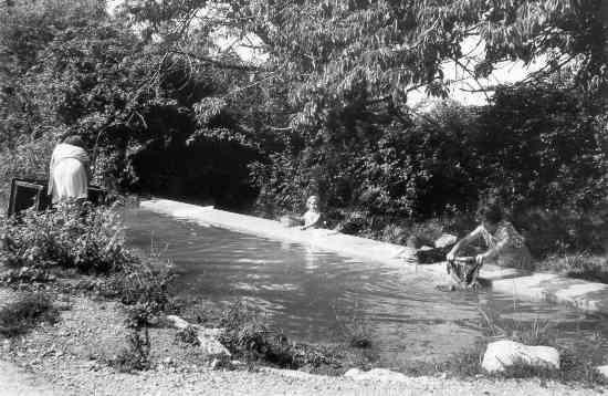 Les Salles, le vallat, 27/08/1973