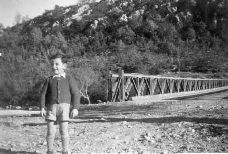 Le pont de Garuby, début des années 1950