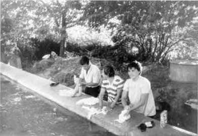 Les Salles, le vallat, 1961