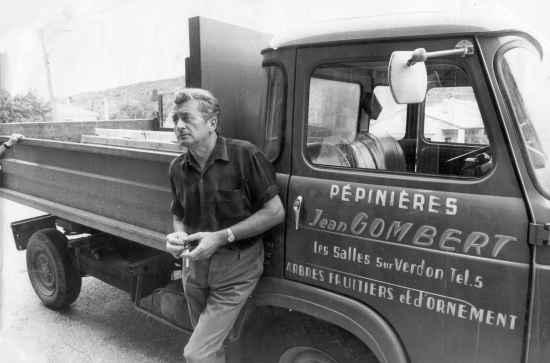 Jean Gombert, maire des Salles-sur-Verdon entre 1959 et 1971