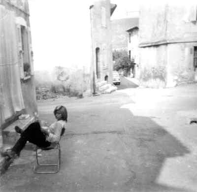 Les Salles, Jocelyne Panaye, août 1972
