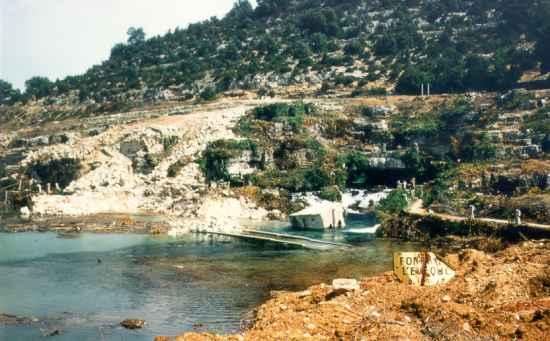 La source de Fontaine l'Evêque, après...