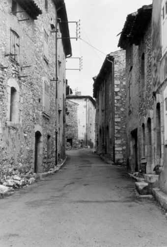 Les Salles, Grand'Rue, 10/06/1973