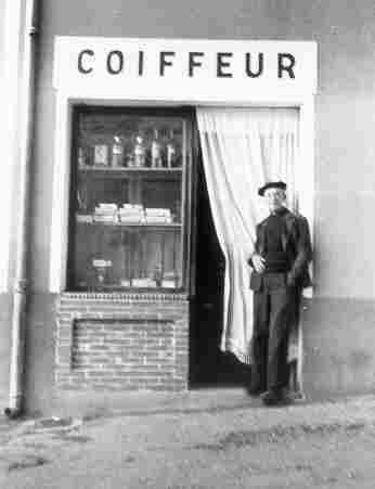 Octave Chappe, coiffeur des Salles-sur-Verdon