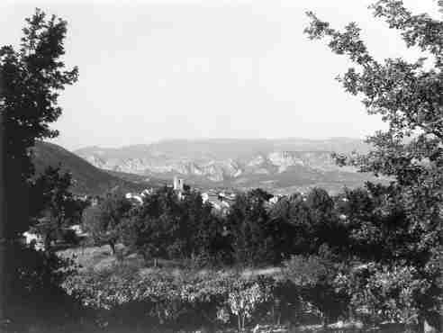 Les Salles, vue générale, 09/1972