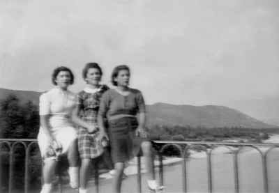 Le pont de Garuby en 1939