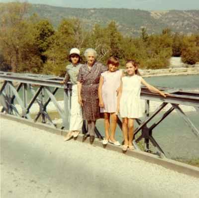 Le pont de Garuby, années 1960