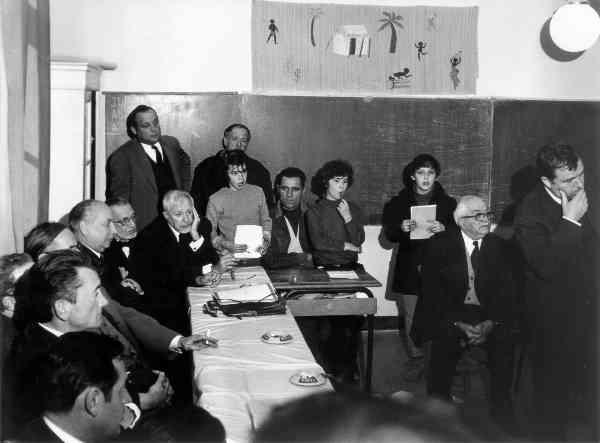 Concours d'architectes pour le nouveau village des Salles-sur-Verdon, 19/03/1970