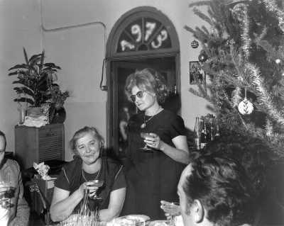 Les Salles, dernier réveillon de Noël, 1972