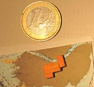La maquette du moulin du pont d'Aiguines
