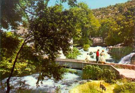 La source de Fontaine l'Evêque