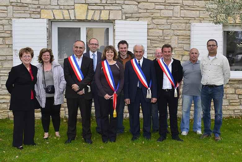 Le nouveau Conseil Municipal des Salles-sur-Verdon
