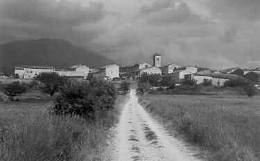 Les Salles, route des iscles, 04/07/1954