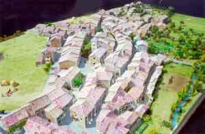 Click here to see the old village's model