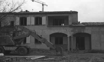 Les Salles-sur-Verdon, la poste du nouveau village