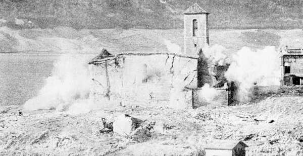 Destruction of the several centuries old church