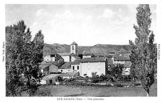 Les Salles depuis le Riou