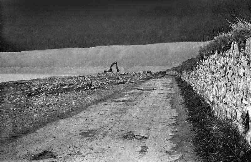 Les Salles, route d'Aiguines, 1974