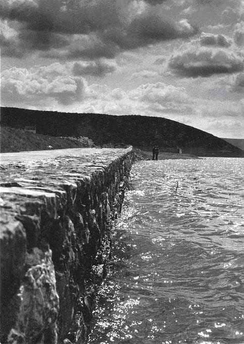 Les Salles, les bords du lac, 1974