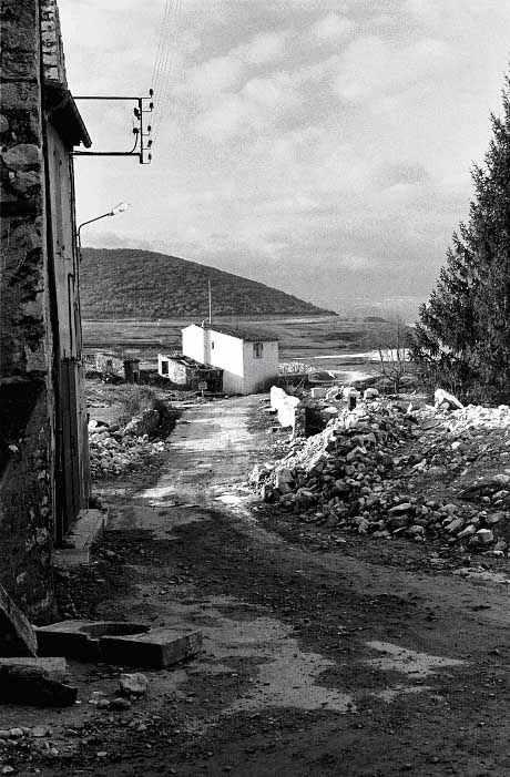 Les Salles, route de Bauduen, 1974