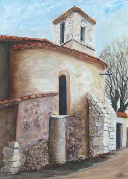 Les Salles-sur-Verdon, le clocher
