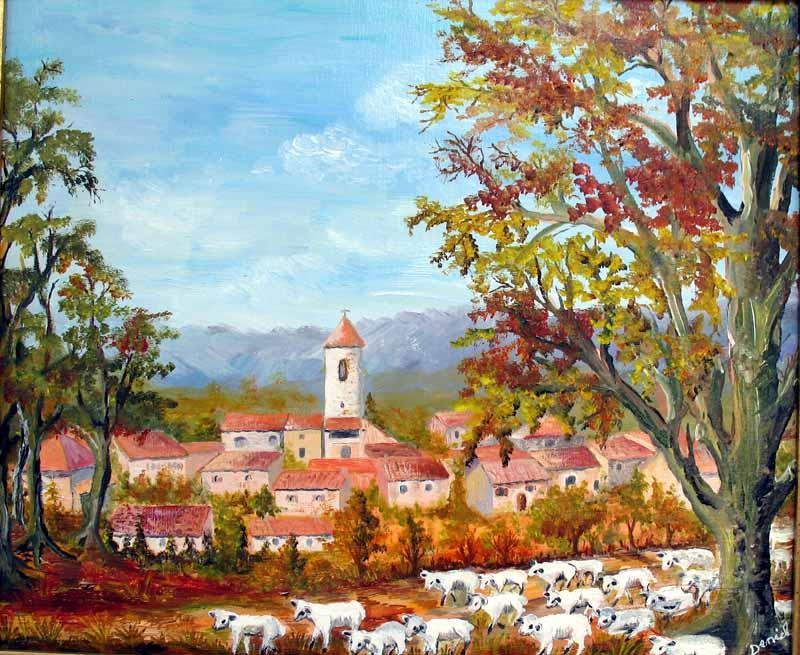 La vallée vue de Pellegrin